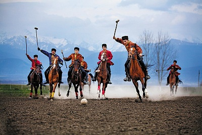 The President's Cup Tournament on Chovkan National Horseback Game