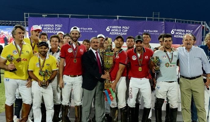 Arena Polo üzrə VI Dünya Kuboku turnirinin final mərhələsi keçirilib